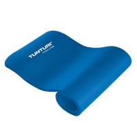 Tunturi NBR fitnessmat met draagtas Blauw