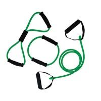 Tunturi Tubing Set met handvatten Medium, Groen