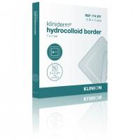 Kliniderm Hydro Border standaard hydrocolloïd wondverband 7x7cm