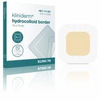 Kliniderm Hydro Border standaard hydrocolloïd wondverband 14x14cm