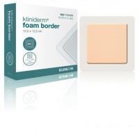 Kliniderm Foam schuimverband met Border 12x5x12,5cm