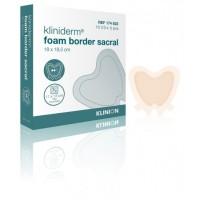 Kliniderm Foam schuimverband met Border Sacrum