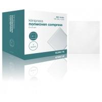 Klinion gaaskompres nonwoven steriel 4-laags 5x5cm
