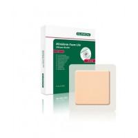 Kliniderm Foam Silicone Lite schuimverband met Border 7,5x7,5cm