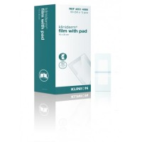 Klinion Kliniderm Film met Pad wondpleister steriel 10x30cm