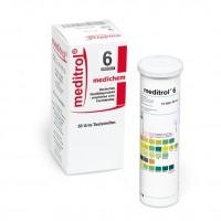 Meditrol 6 urine teststrips 50 stuks