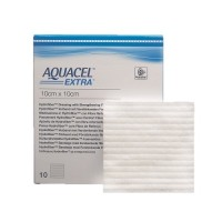Aquacel Extra Hydrofiber wondverband steriel 10x10cm