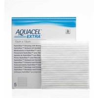 Aquacel Extra Hydrofiber wondverband steriel 15x15cm