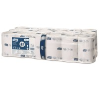 Tork toiletpapier hulsloos midsize advanced 2-laags 36 rol in zak