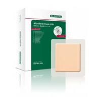 Kliniderm Foam Silicone Lite schuimverband met Border 4x5cm