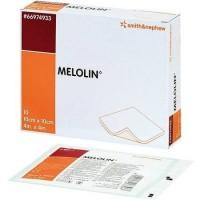 Melolin wondkompres 10x10cm 10 stuks