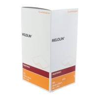 Melolin wondkompres 10x10cm 100 stuks