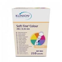 Klinion Diabetes Care Soft fine lancetten 28G 210 stuks