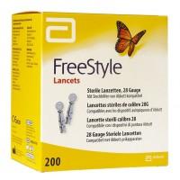 FreeStyle lancetten 28G 200 stuks