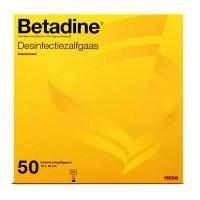 Betadine zalfgaas 10 x 10cm