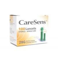 CareSens lancetten 28G 100 stuks