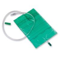 Curion curibag urinebedzak groen met trekkraan 90cm 2 liter 25 stuks