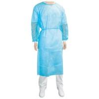 Disposable jas blauw maat XL 10 stuks
