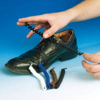Elastische schoenveters wit 1 paar