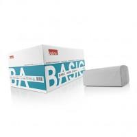 Satino Basic handdoekjes 1-laags Grijs ZZ-vouw 5000 stuks