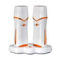 Harspatroon verwarmer Sunzze Duo met temperatuurregelaar