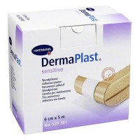 Dermaplast Sensitive wondpleister 5m x 6cm
