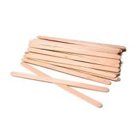 Houten wax spatels smal (wenkbrauwen)