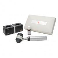 Heine Delta 20T dermatoscoop set met Beta NT4 tafeloplader