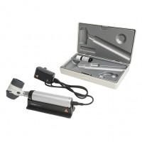 Heine Delta 20T dermatoscoop set met Beta 4 handvat