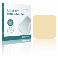 Kliniderm Hydro Thin hydrocolloïd wondverband 10x10cm