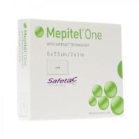 Mepitel One siliconen wondcontactlaag 5x7cm 5 stuks