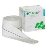 Tubifast buisverband 10m x 7,5cm blauw