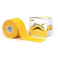 Nasara kinesiologie tape Geel 5 meter x 5cm