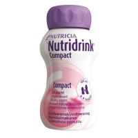 Nutridrink Compact drinkvoeding Aardbei 4x125ml