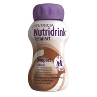 Nutridrink Compact drinkvoeding Chocolade 4x125ml