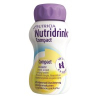 Nutridrink Compact drinkvoeding Vanille 4x125ml