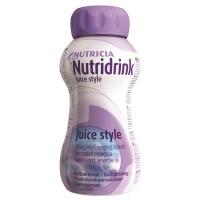 Nutridrink Juice Style drinkvoeding Cassis 4x200ml