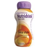 Nutridrink Juice Style drinkvoeding Sinaasappel 4x200ml
