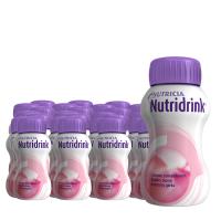 Nutridrink drinkvoeding Aardbei Voordeelverpakking 6 pakken van 4x200ml