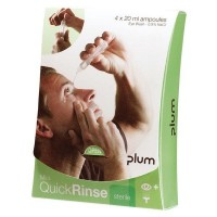 Plum QuickRinse oogspoeling ampullen met 0,9% NaCl