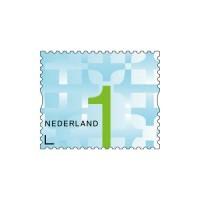 Postzegel NL waarde 1 zelfklevend, 10 stuks