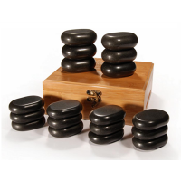 Sibel Hot Stone massage set 18 delig