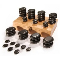Sibel Hot Stone massage set 36 delig