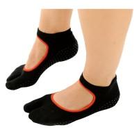 Sissel Pilates één teen antislip sokken