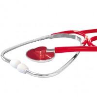 Stethoscoop standaard model Rood