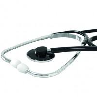 Stethoscoop standaard model Zwart