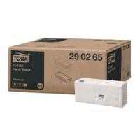 Tork papieren handdoek advanced 2 laags C-Vouw H3 wit 2560 stuks