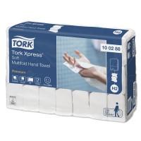 Handdoekjes Tork Premium Soft 2-laags H2 Xpress
