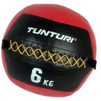 Tunturi Wall Ball 6kg Rood