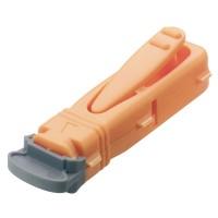 Unistik 3 veiligheidslancetten Extra 21G Oranje